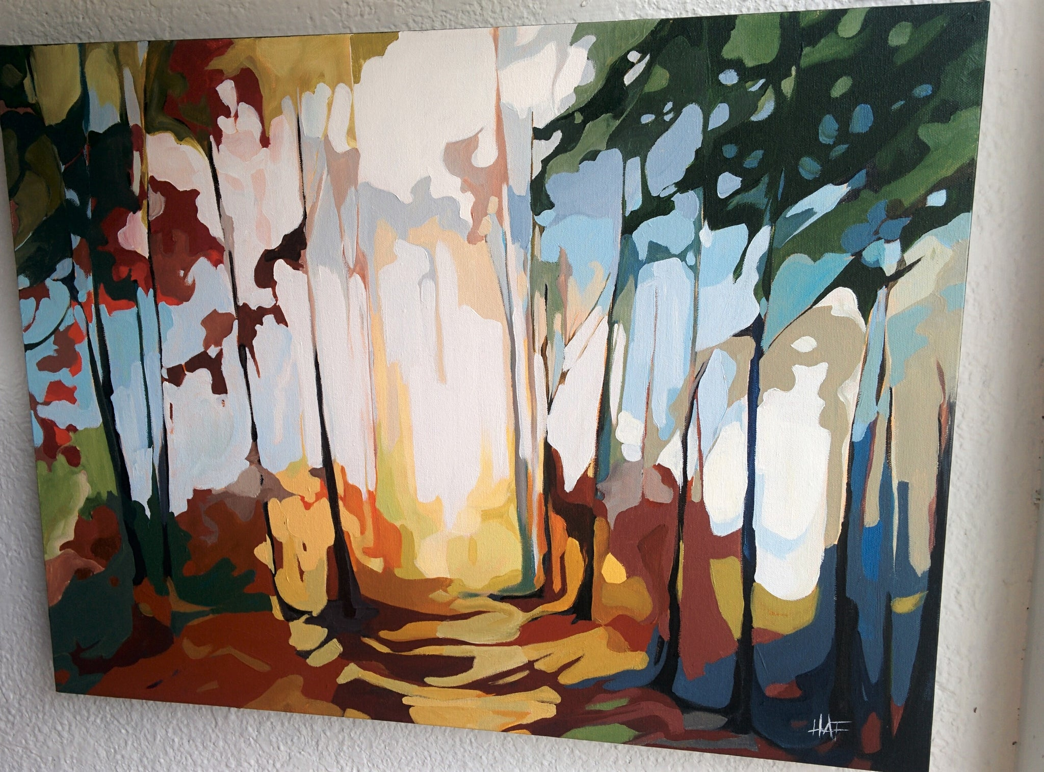 Original Painting - FOREST PATHWAY
