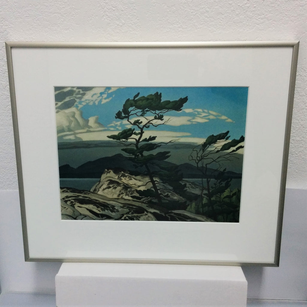 Group of Seven Aluminum Framed Print - A. J. Casson - White Pine