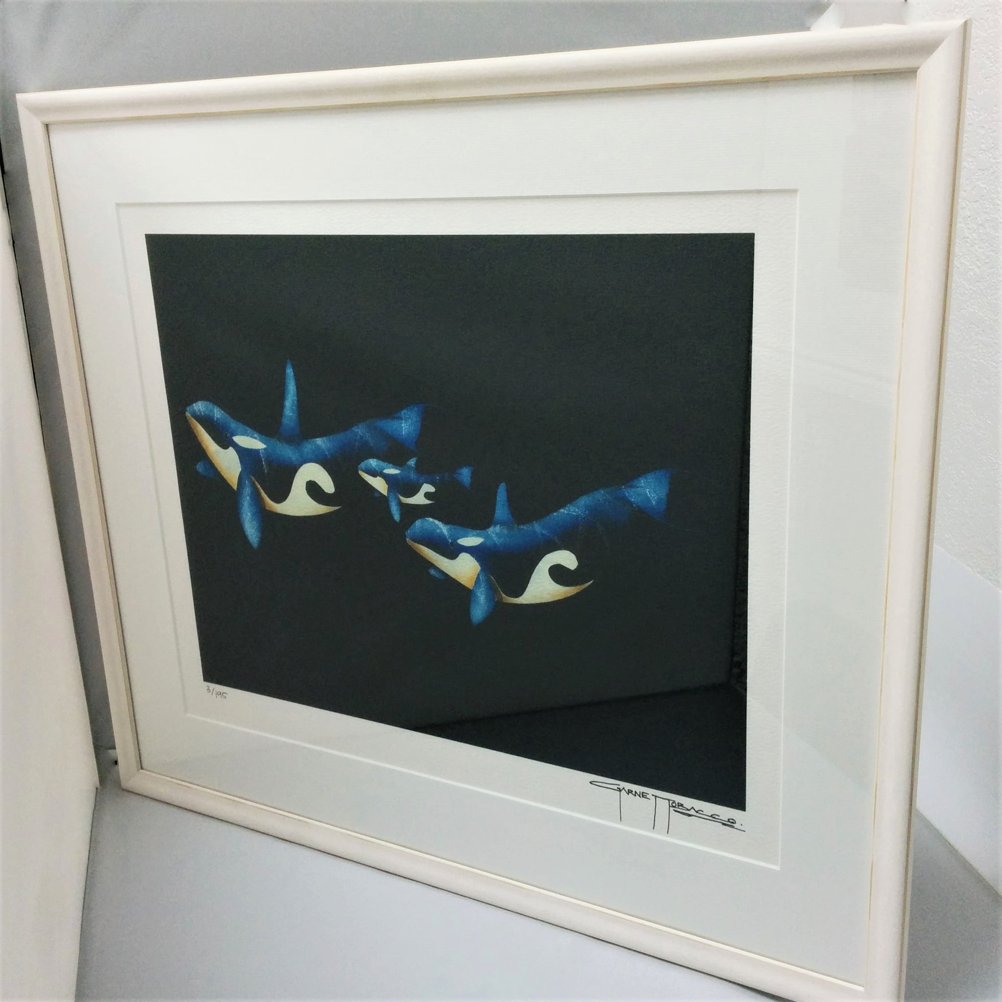 Framed Limited-Edition Print - FAMILY OUTING