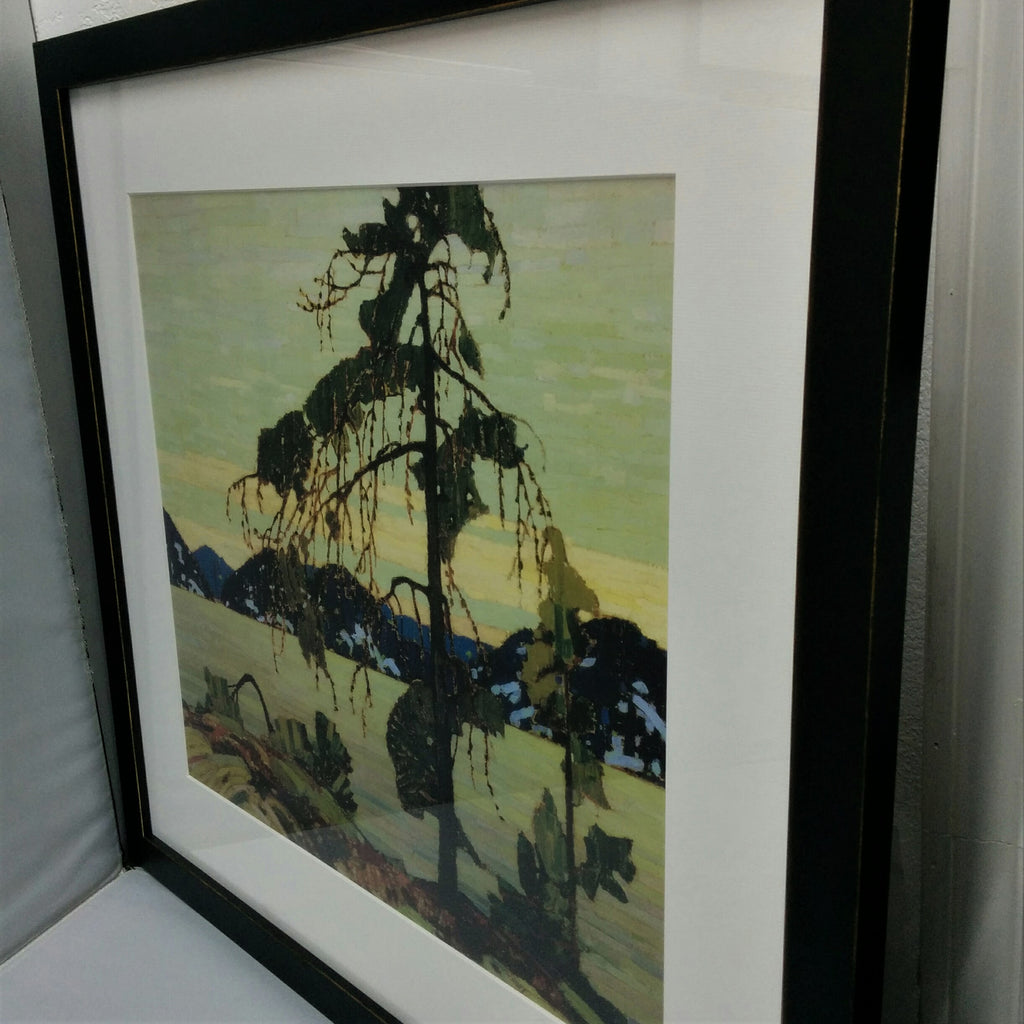 Framed Large Group of Seven Print - Tom Thomson - The Jack Pine