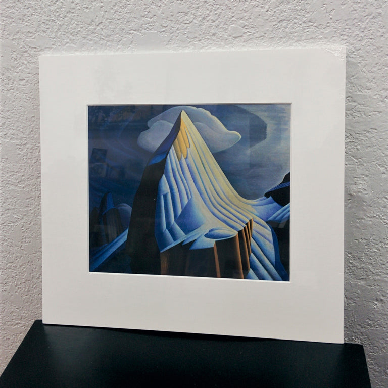 Group of Seven Matted Print - Lawren S. Harris - Mount Lefroy