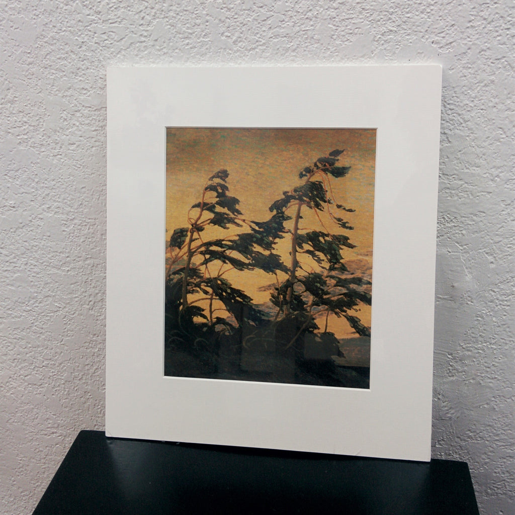 Group of Seven Matted Print - Tom Thomson - Pine Island, Georgian Bay, 1916