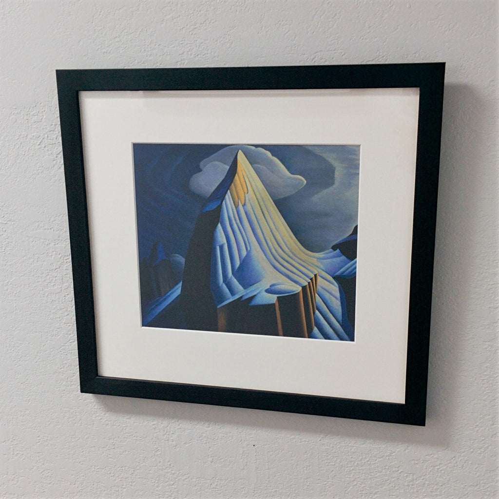 Group of Seven Framed Print - Lawren S. Harris - Mount Lefroy