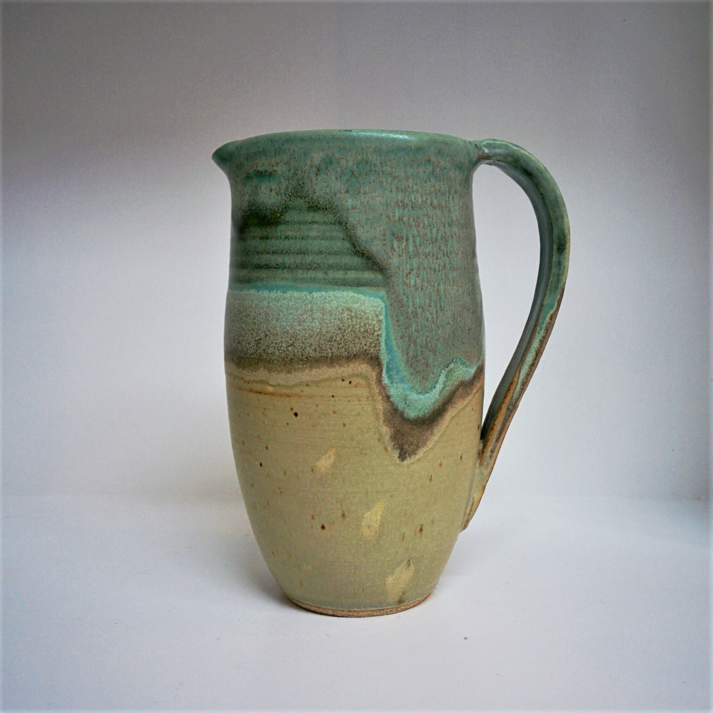 Pottery pitcher made by Canadian Potter Natalie Prevost