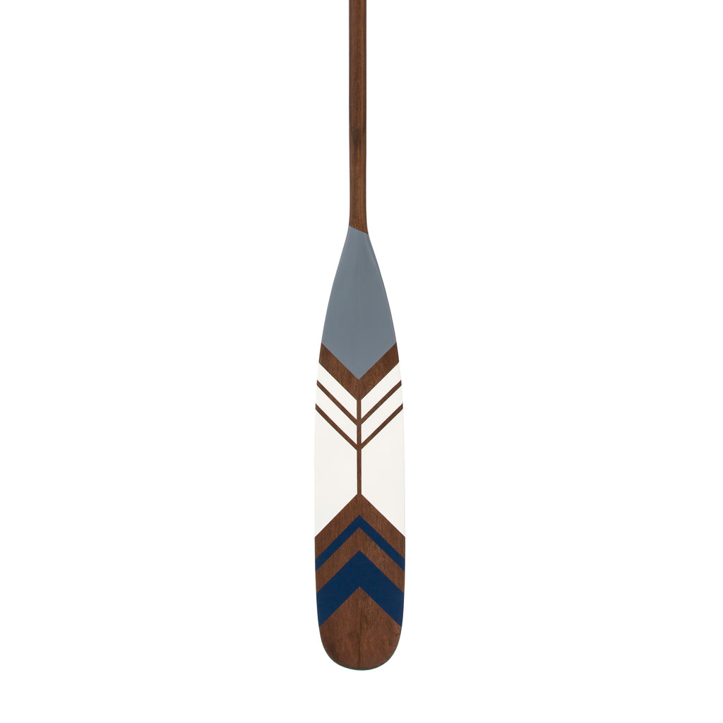 Hand-painted Canadian Maple Canoe Paddle