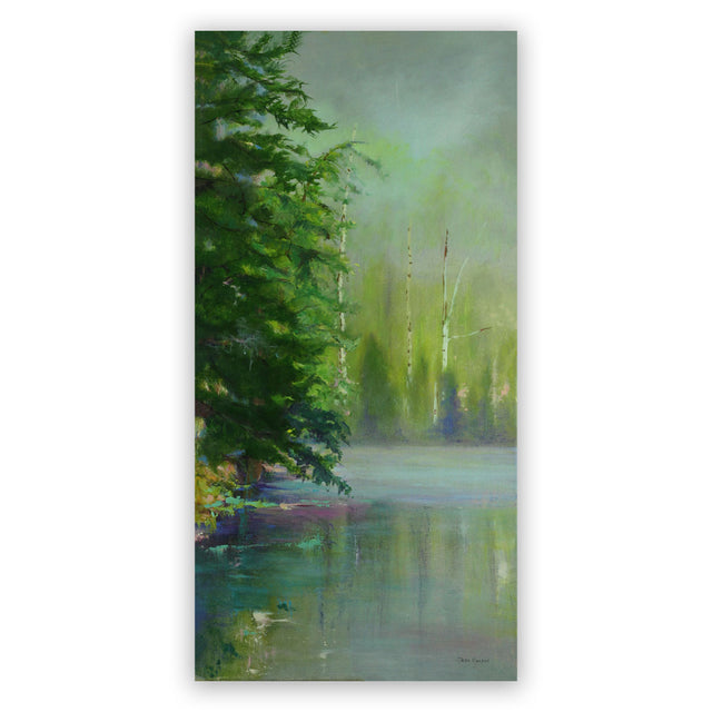 Original Oil Painting - MORNING MIST
