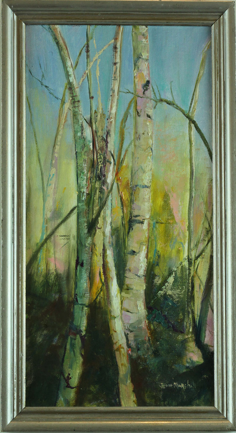 Original Oil Painting - WILD BIRCHES