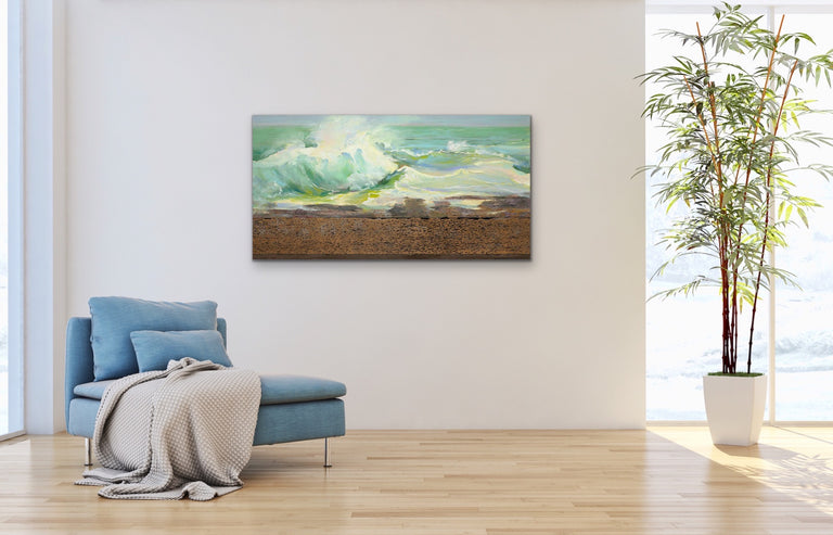 Original Oil Painting - SHORELINE TAPESTRY