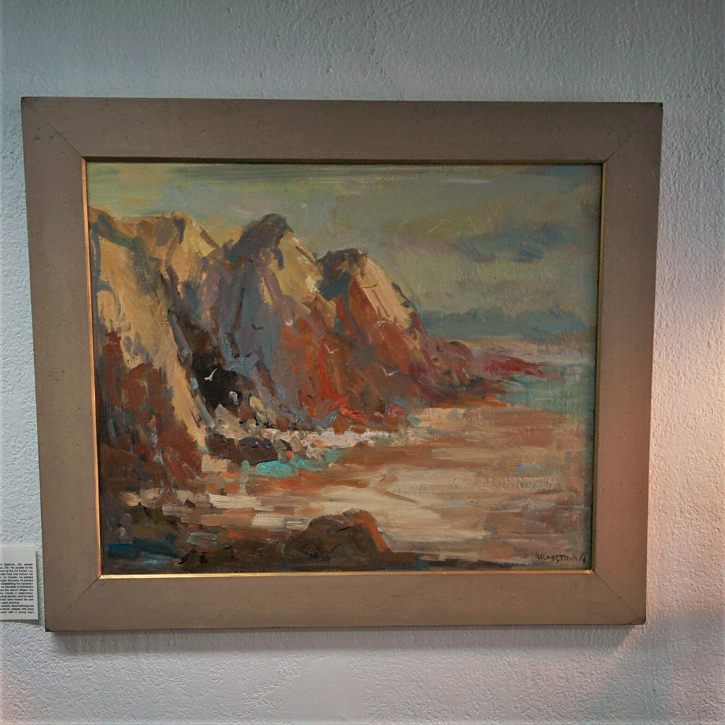 Original Painting, Acrylic on Canvas - MENDOCINO