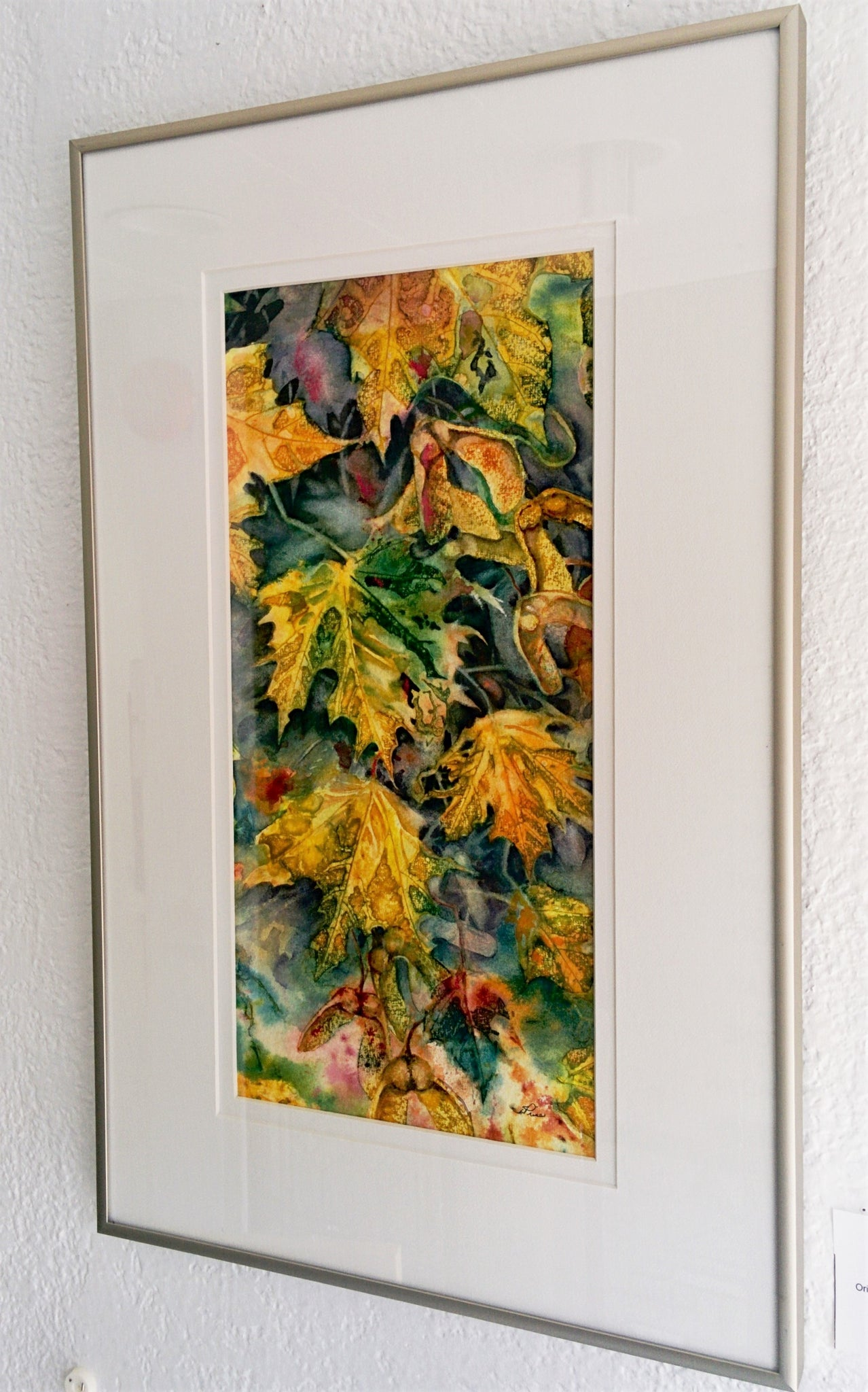 Framed Original Painting - MAPLE KEYS