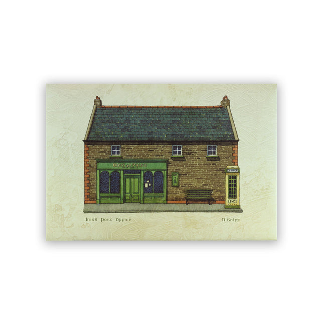 Giclee Print on Canvas - IRISH POST OFFICE