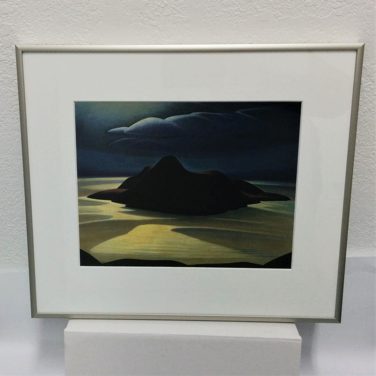 Group of Seven Framed Print - Lawren S. Harris - Pic Island