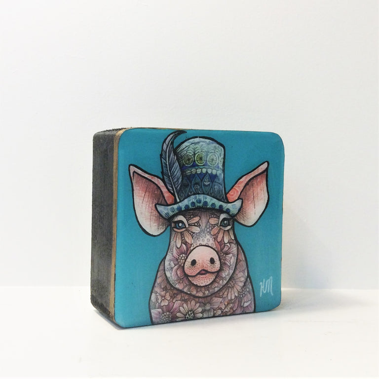 Original Work - SUNDAY HAT PIG