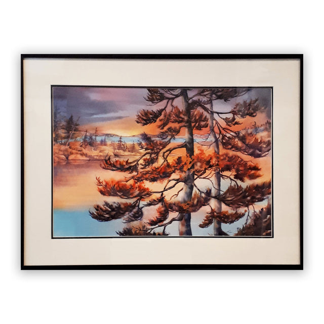 Framed Original Painting - BURNISHED