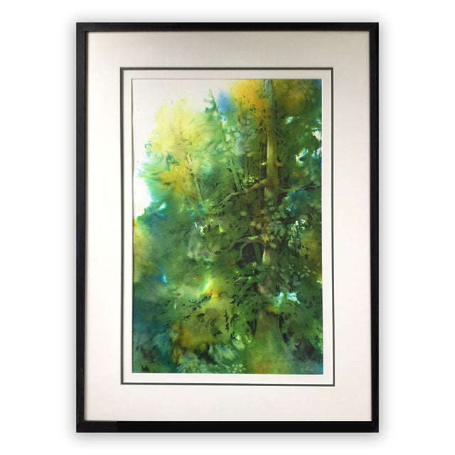 Award-winning Framed Original Painting - THE WONDER OF TREES