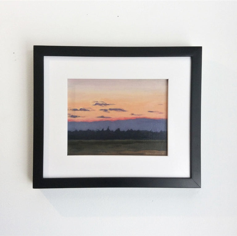 Original Oil - ST. GEORGE SUNSET