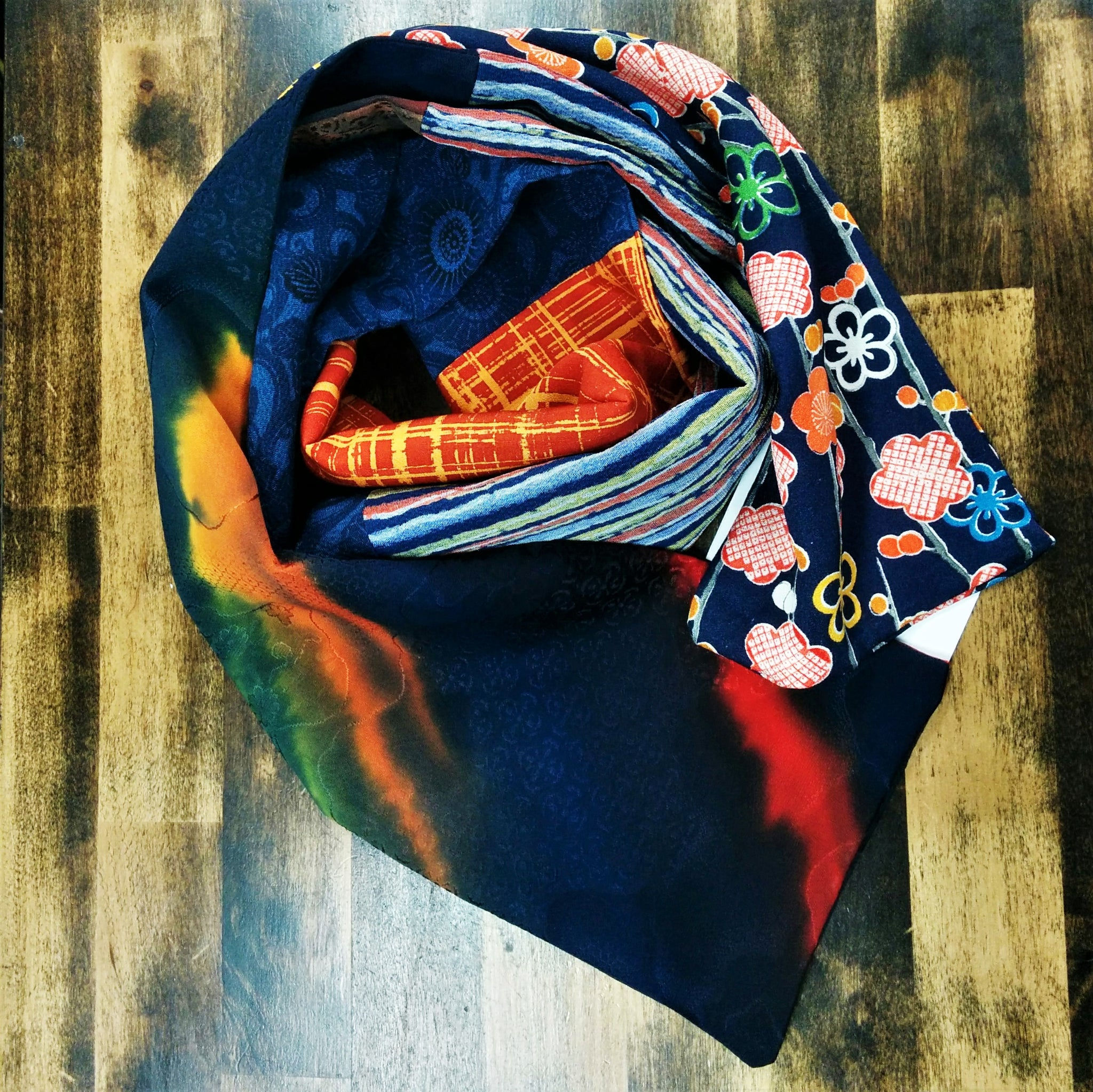 Silk Scarf - Northern Lights
