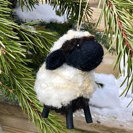 Wool Sculpture - Valais Black-nose Sheep