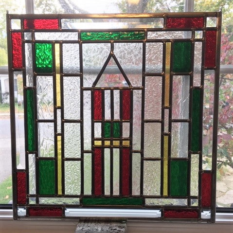 Contemporary Stained Glass - THE HOUSE