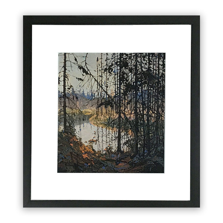 Group of Seven Framed Print - Tom Thomson NORTHERN RIVER, 1914-15