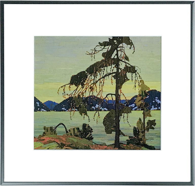 Framed Group of Seven Print - Tom Thomson - THE JACK PINE