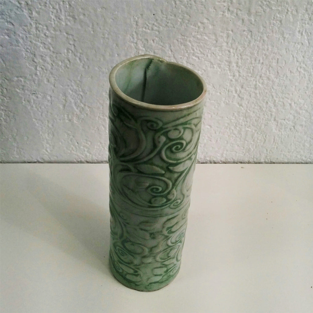 Pottery Hand-formed Vase