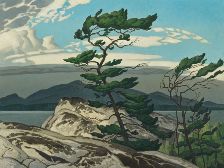Group of Seven Matted Print - A. J. Casson - WHITE PINE
