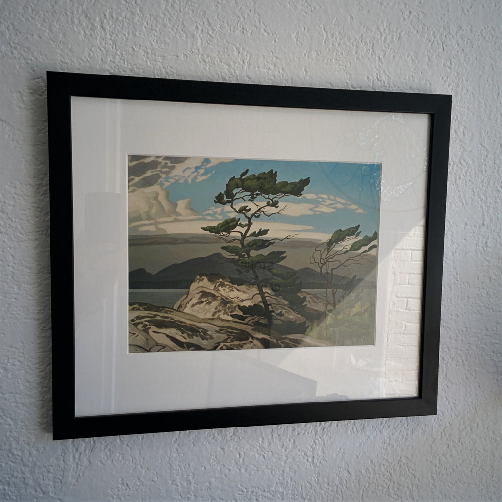 Group of Seven Framed Print - A. J. Casson - White Pine, 1957