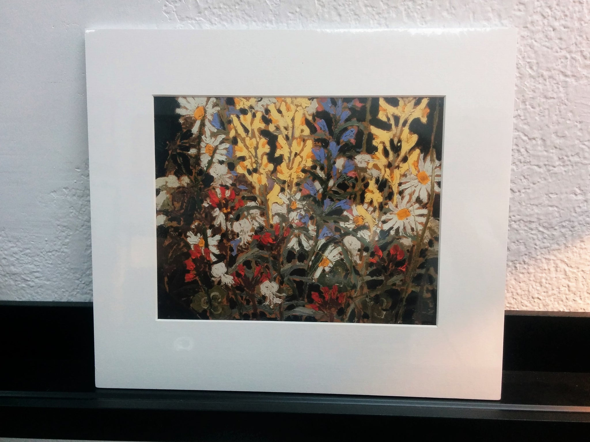 Group of Seven Matted Print - Tom Thomson - Wildflowers, 1915