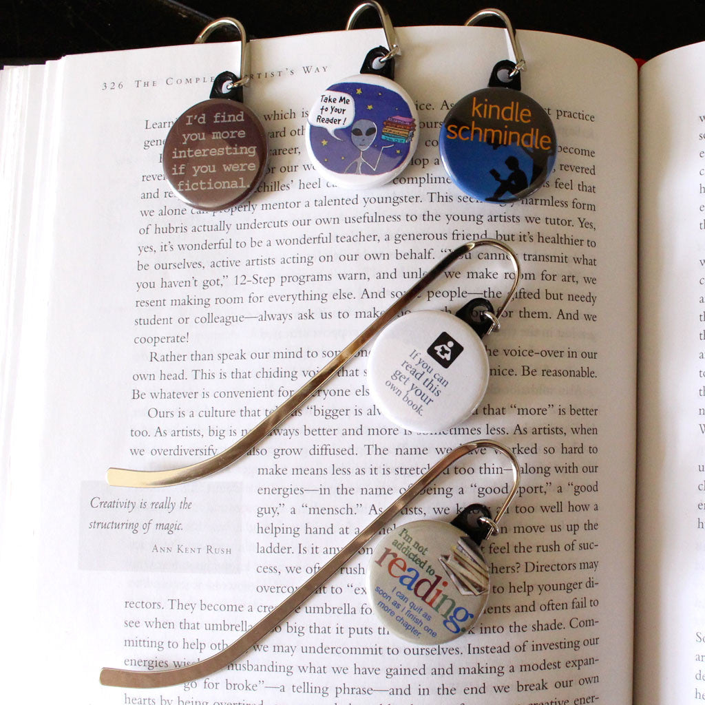 "Quote Bookmark - Alien ""take me to your reader"""