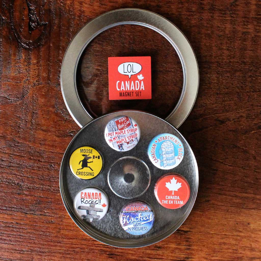 Canada Magnets - Set of Six
