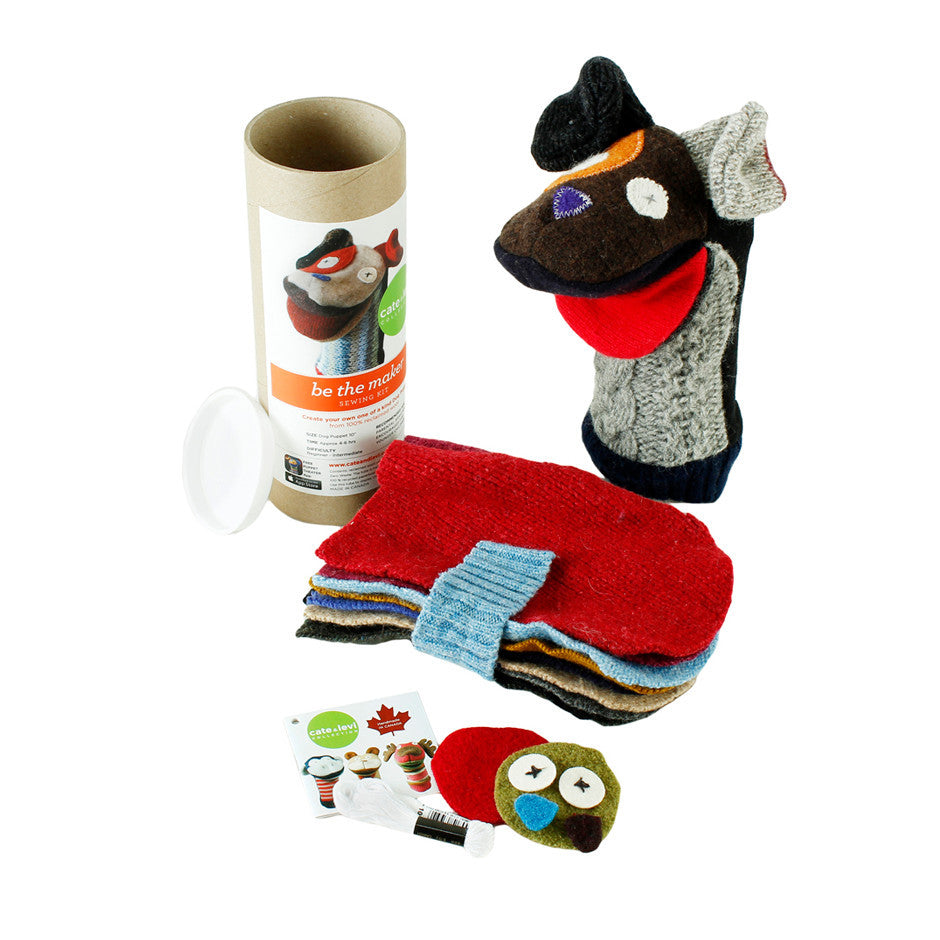 Puppet Making Kit - Dog - Save 50%
