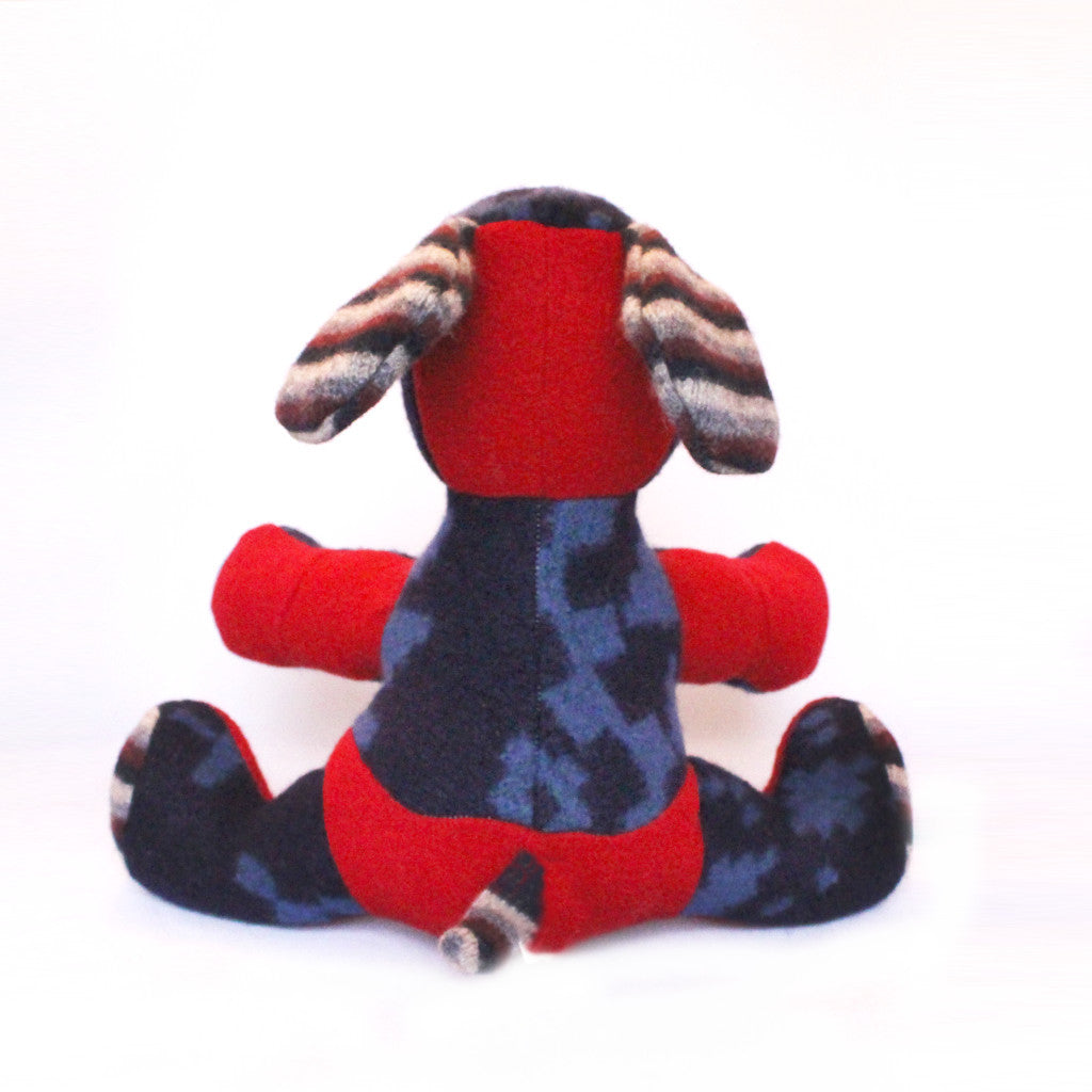 One-of-a-Kind Handmade Stuffed Animal - Red Dog - Save 30%