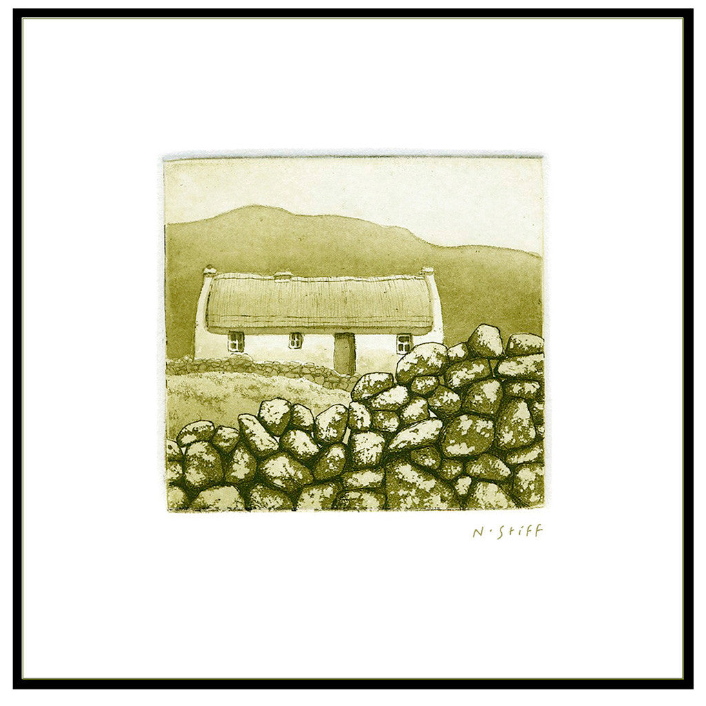 Framed Print - Thatched Cottage