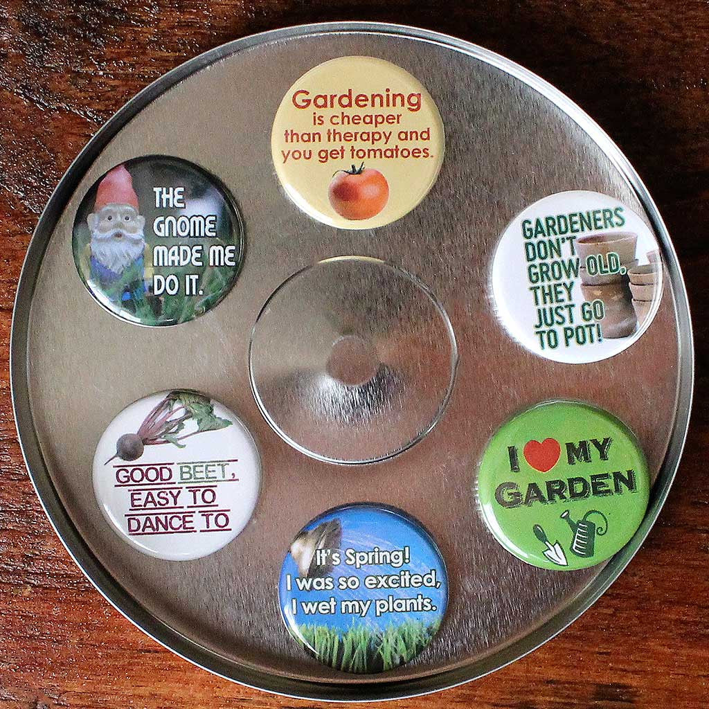 Gardeners Magnets - Set of Six