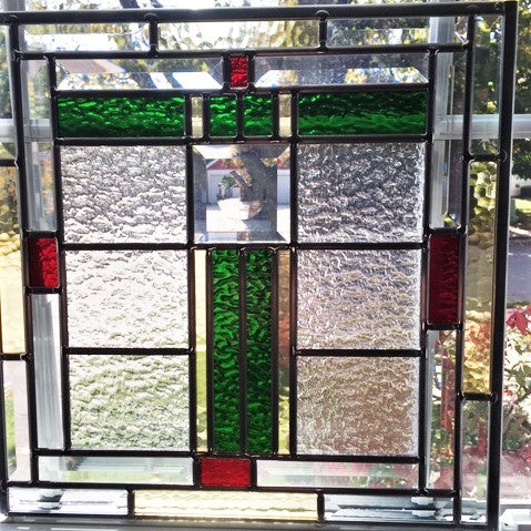 Contemporary Stained Glass - ON FRANK LLOYD WRIGHT