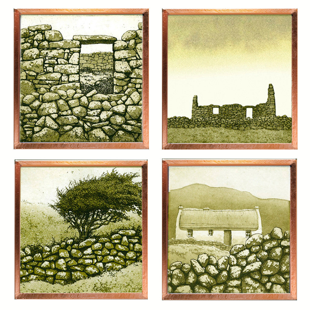 Irish Countryside Scenes - Set of Magnets
