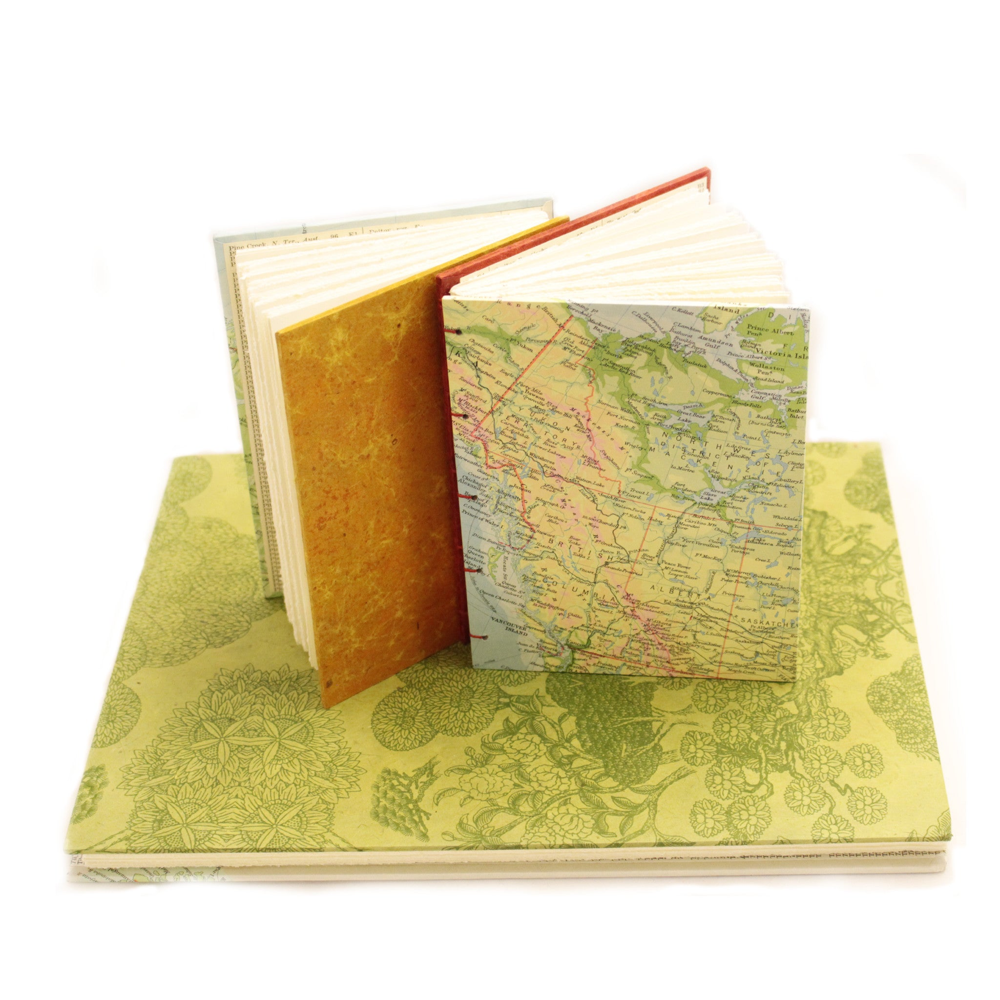 Large Sketch Book or Journal - Map