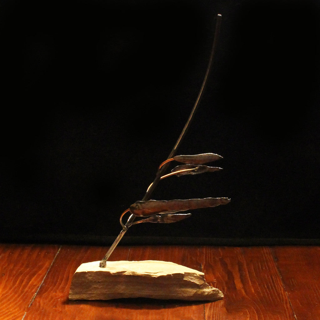 Metal Balanced Tree Sculpture - Resilience Series