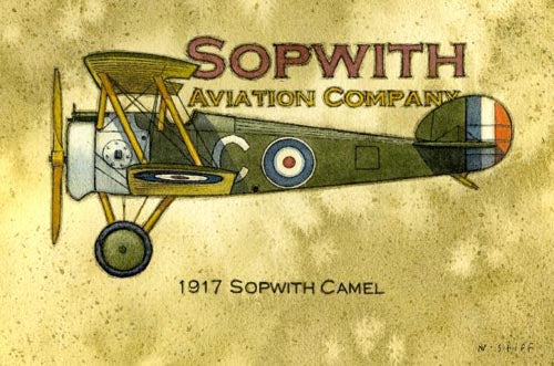 Framed Print - Sopwith Plane