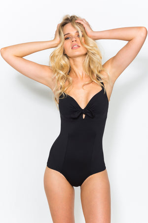 Jane Jet Black Swimsuit