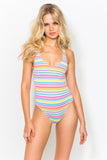 Rosie Candy Stripe Swimsuit