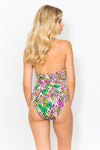 Myriam Acid Feather Swimsuit