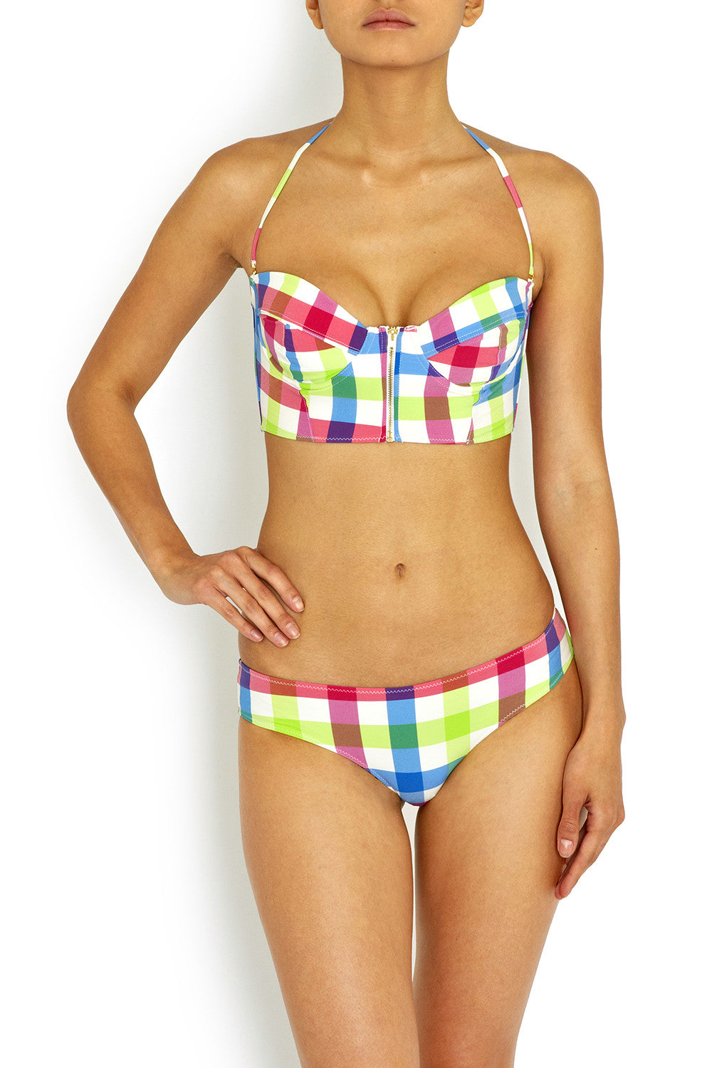 Chantelle Retro Gingham Bikini