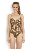 Evelyn Bronze Swimsuit