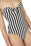 Evelyn Stripe Swimsuit