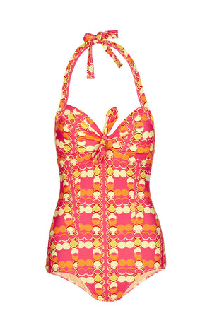 Jane Fluro Coin Swimsuit