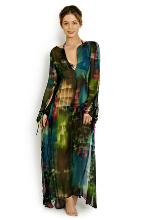 Shehezerade Long Butterfly Kaftan