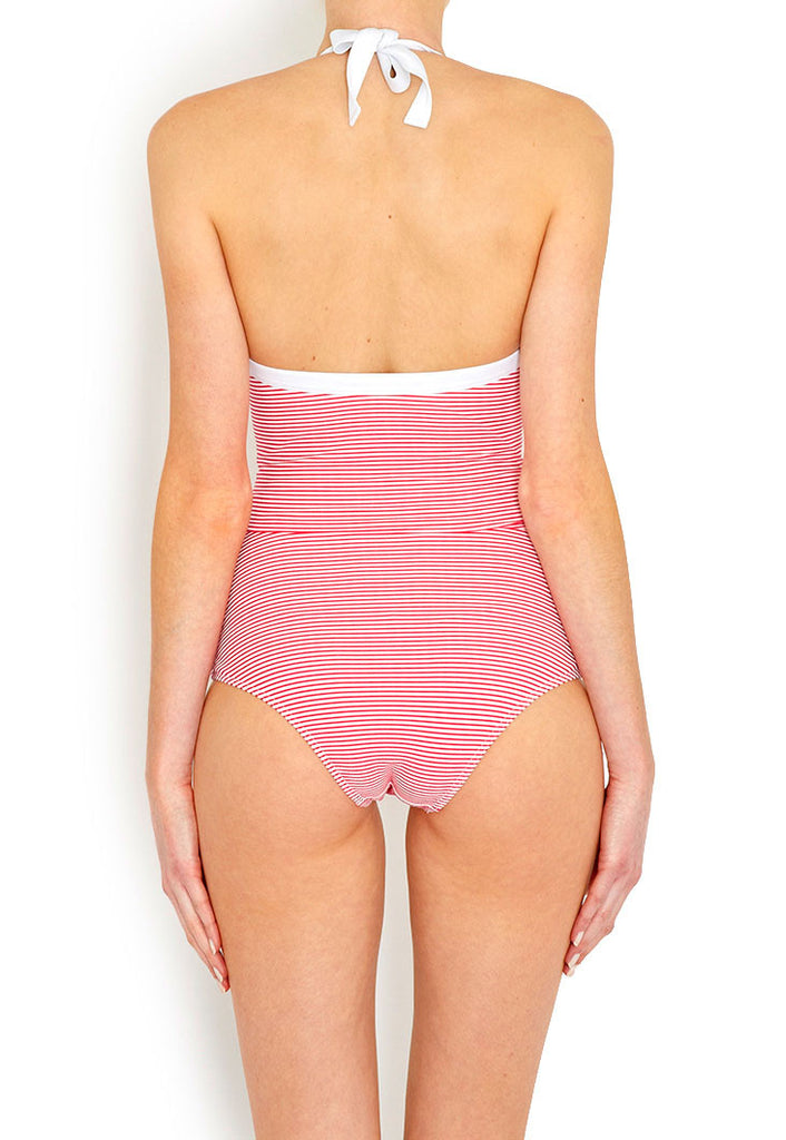 Jane Candy Stripe Swimsuit