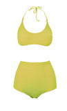 Scarlet Acid Lime Green Bikini